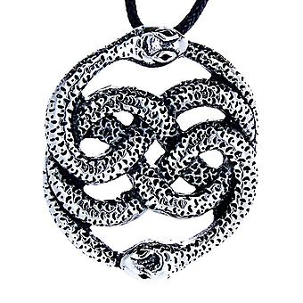 Pendant 19 a snakes - stainless steel