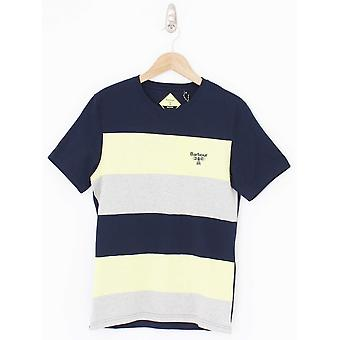Barbour Beacon Aller Stripe T.Shirt - Navy