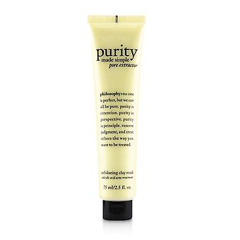 Purity made simple pore extractor exfoliating clay mask 242087 75ml/2.5oz