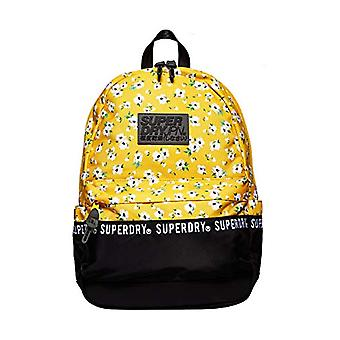SuperdryRepeat Series Montana Women's Backpack BagYellow (Yellow Aop)13.5x46x30.5 Centimeters (B x H x T)