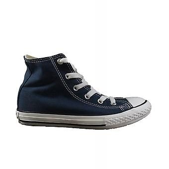 Converse Chuck Taylor All Star Classic 3J233C Navy Canvas Childrens Unisex Lace Up Hi Top Sneaker Ankle Boots