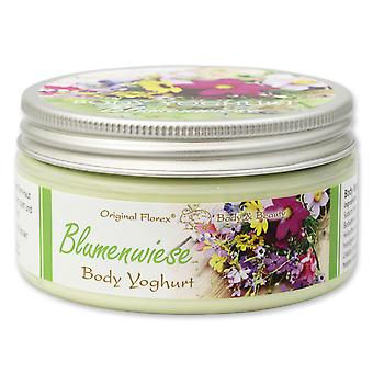 Florex Body Yoghurt - Flower Meadow - Refreshing Light Vitamin Body Yogurt Silk Soft Skin 200 ml
