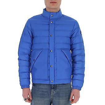 Woolrich Woou0171mrut2044302 Men's Blue Nylon Down Jacket