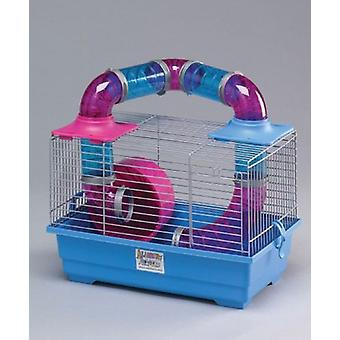 Mgz Alamber Tubing Hamster Cage (37X23X25) (Small pets , Cages and Parks)