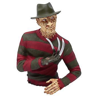 Painajainen Elm Streetin rahalaatikko Freddy Krueger khaki/punainen, painettu, valmistettu 100% muovista, poly pussissa.