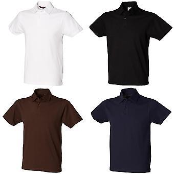 Skinni Fit Herren Stretch Polo-Shirt