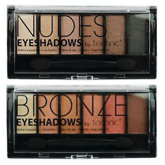 Technic Nudes 6 and Bronze 6 Colour Eyeshadow Palette