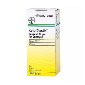 Keto-diastix reagent strips, 100 ea