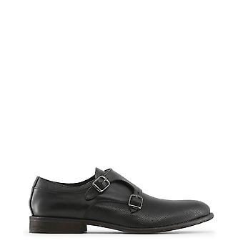 Lavet i Italia Original Mænd Forår / Sommer Flad sko - Sort Farve 29497