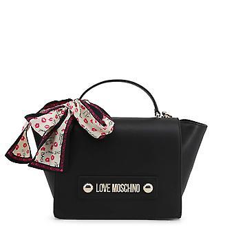 Love Moschino Original Women Fall/Winter Handbag - Black Color 37072