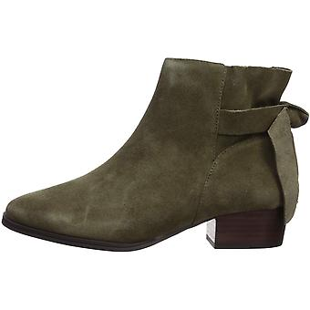 Aérosols Women-apos;s Crosswalk Ankle Boot, Green Suede, 11 M US