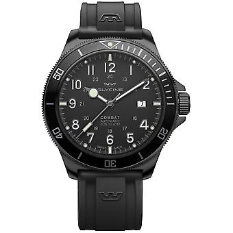 Combat Analog Men's Automatic Watch with Silicone Bracelet GL0288