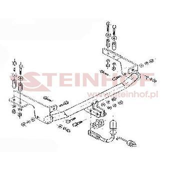 Steinhof Towbar (mocuje 2 śruby) dla Fiat PUNTO 1999-2011