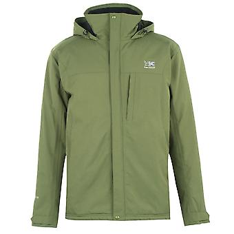 Karrimor Mens Panowie Wyściełane Wodoodporny Full Zip Front Jacket Coat Top
