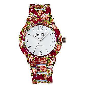 Eton Fuchsia Chintz Floral Print Bracelet Fashion Watch 3174J-DKPK
