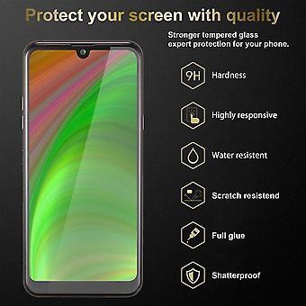 Cadorabo Helskärms tankfolie för LG K50 - Härdat Display Skyddsglas i 9H hårdhet med 3D Touch Kompatibilitet