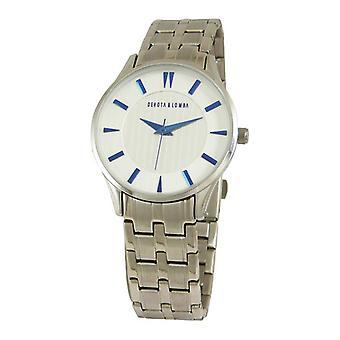 Ladies'Watch Devota & Lomba DL012W-01WHITE (35 mm) (Ø 35 mm)