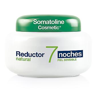 Somatoline Reductor Natural 7 Noches Piel Sensible 400 Ml For Women