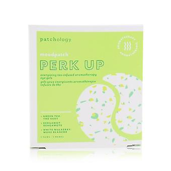 Patchology Moodpatch - Perk Up Energizing Tea-Infused Aromatherapy Eye Gels (Green Tea+Bergamot+White Mulberry) 5pairs