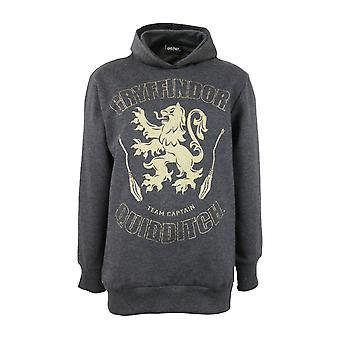 Harry Potter Gryffindor Quidditch Captain Boys Pullover Hoodie | Official Merchandise