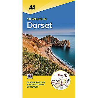 50 Walks in Dorset - 9780749581183 Book