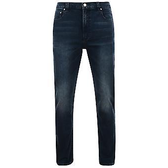 Kam Jeanswear Mens Aron Low Waist Stretch Jeans