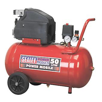 Sealey Sa5020 Compressor 50Ltr Direct Drive 2Hp