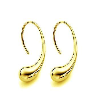 Orecchini a gancio a goccia chic o orecchini a gancio d'oro per donna