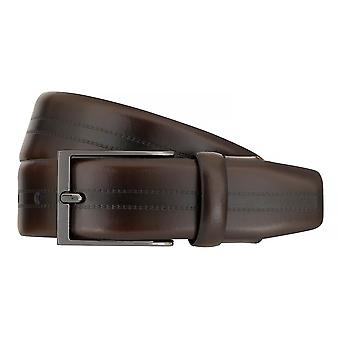 Strellson belts men's belts leather belt Flexbelt Brown 7561