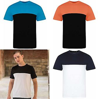 AWDis Just Ts Unisex Adults Colour Block T-Shirt