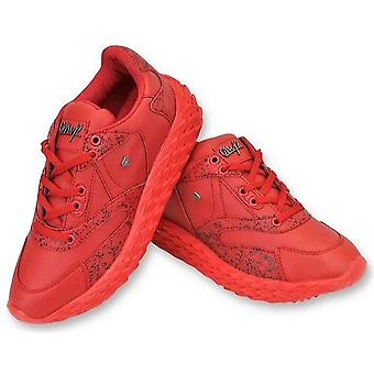 Shoes - Touch Red - Red