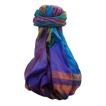 Varanasi Ekal Premium Silk Long Scarf Heritage Range Singh 6 by Pashmina & Silk