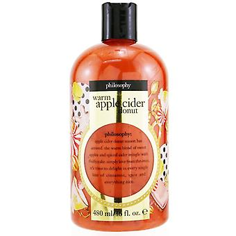 Warm Apple Cider Donut Shampoo Shower Gel & Bubble Bath - 480ml/16oz