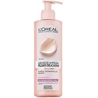 L'Oreal Paris Delicate Flowers Cleansing Lotion For Sensitive Skin 400 ml