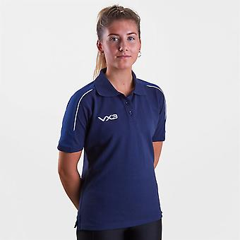 VX-3 Womens Pro Ladies Polo Shirt Short Sleeve Performance Collar Buttons Top