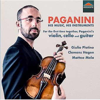 Paganini / Plotino / Mela - His Music & His Instruments [CD] USA import