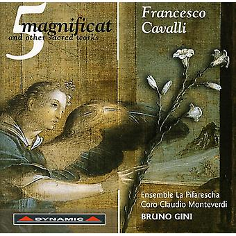 F. Cavalli - Francesco Cavalli: 5 Magnificat and Other Sacred Works [CD] USA import