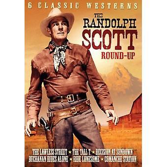 Randolph Scott Roundup Volume 1 - 6 Movie Pack [DVD] USA import