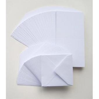 Craft UK Cards & Enveopes 6x6 Inch White