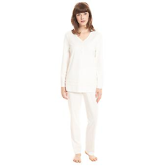 Féraud High Class 3201192-11697 Women's Ivory Cotton Pyjama Set