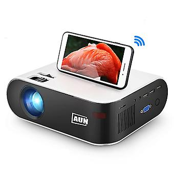 Aun W18C Mini PROIECTOR LED cu Mira Cast - Mini Beamer Home Media Player