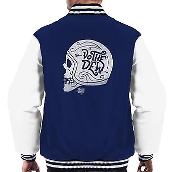 Mountain Dew Do The Dew Skull Men's Varsity Jacket