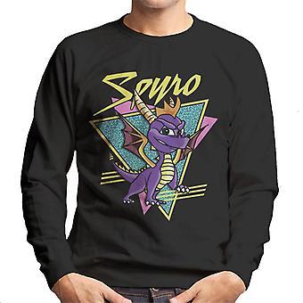 Spyro Retro Montage Men's Sweatshirt