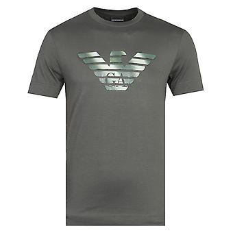 Emporio Armani Logo Green T-Shirt