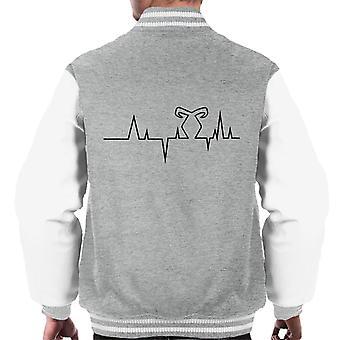Veste Varsity De Rune Electrocardiogram Shadowhunters Men-apos;s
