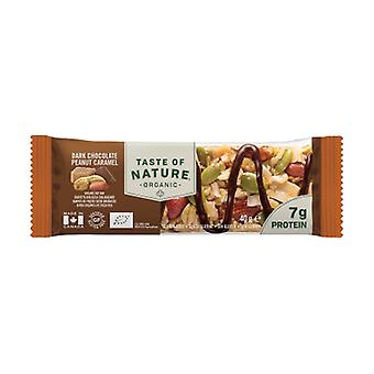 Protein chocolate and caramel bar 1 bar of 68g