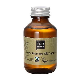 Zero Waste Argan Massage Oil 100 ml of oil