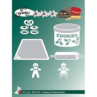 By Lene Cutting & Embossing Dies Cookies