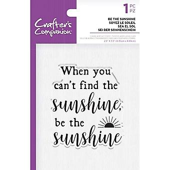 Crafter's Companion Be the Sunshine Clear -postimerkit