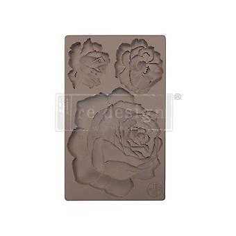 Re-Design with Prima Etruscan Rose 5x8 Inch Mould